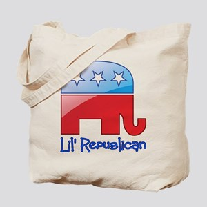 Lil Republican Red/Blue Tote Bag